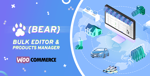 BEAR - WooCommerce Bulk Editor and Products Manager Professional