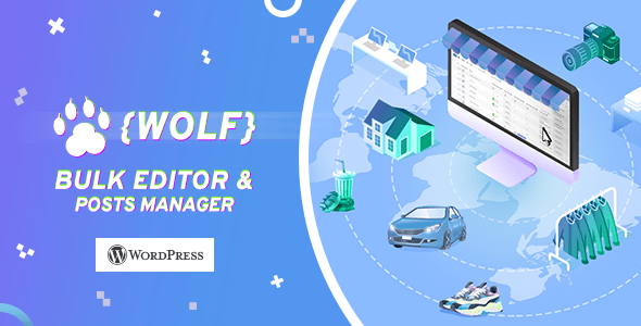 WPBE - WordPress Posts Bulk Editor Professional