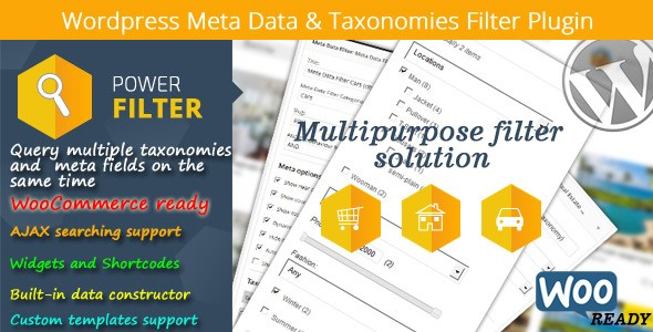 MDTF – WordPress Meta Data & Taxonomies Filter Plugin