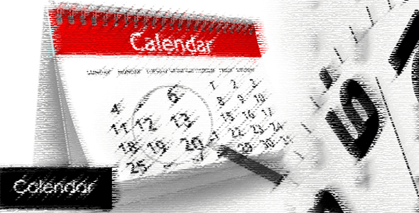 Simple Free Open Source AJAX PHP Calendar Script