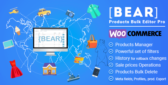 BEAR – WooCommerce Bulk Editor and Products Manager Professional