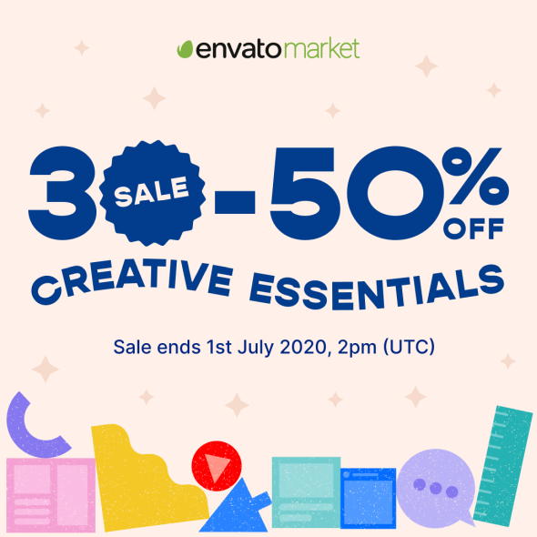 Envato Mid Year Sale 2020 - 30-50% discount. Sale ends 1st July 2020!